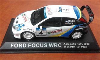 Ford Focus WRC racing car