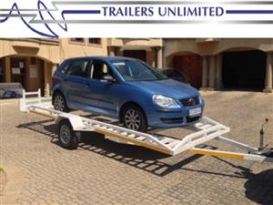TRAILERS UNLIMITED. SINGLE AXLE CAR TRAILER 4000 X 2000 X 200