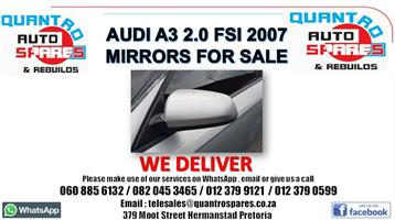 Audi A3 2.0 tfsi mirrors for sale