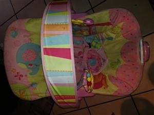 Pink Baby Bouncer Chair