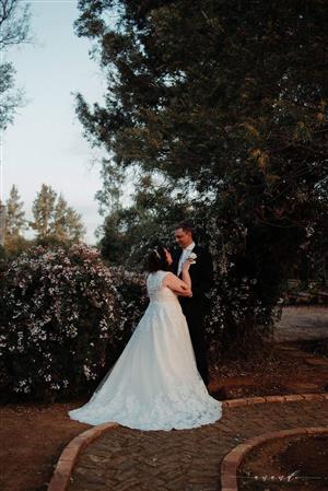 Magnificent wedding dress