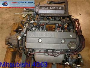 Imported used  MITSUBISHI LANCER/GALANT/PAJERO 2.0L RWD, 4G63  8V engine Complete