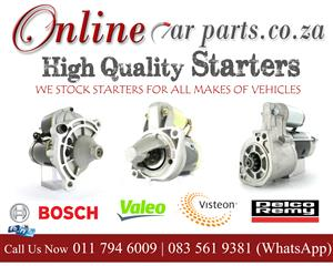 High Quality Starters Solenoids Brushes Bosch Valeo Mitsubishi Denso