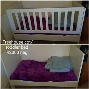 Treehouse cot for sale