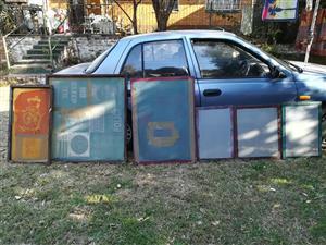 6 x silk screens for sale