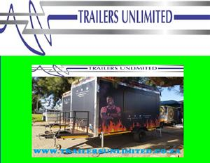 TRAILERS UNLIMITED THE BEST MOBILE KITCHENS.
