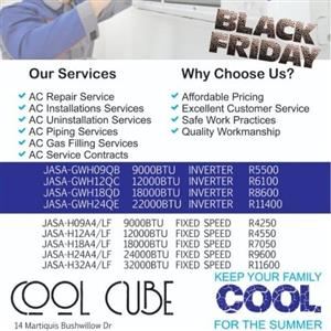 Aircondition Specials BLACK FRIDAY