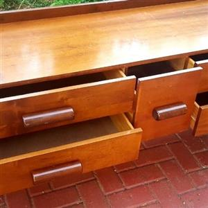 Solid Emboya Wood Table