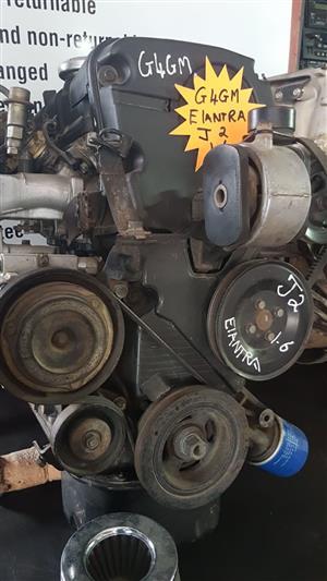Hyundai Elantra J2 1.6 G4GM engine for sale.