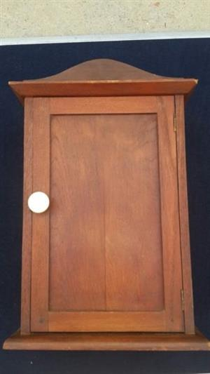 Hardwood bathroom/medicine style cabinet