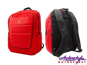 Ferrari Scuderia Rucksack Backpack  Ferrari backpack is the stylish Ferrari rucksack