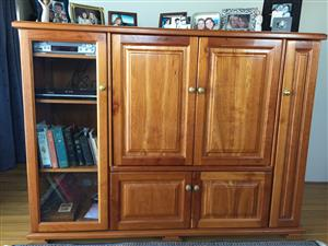 Solid Cherrywood TV and Media Stand/Unit