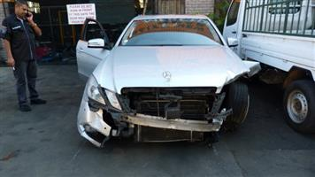 Dismantling this Mercedes E250