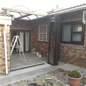 Aluminium sliding doors repair and installation services