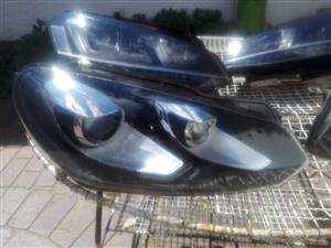 VW Golf-6 xenons Headlights.