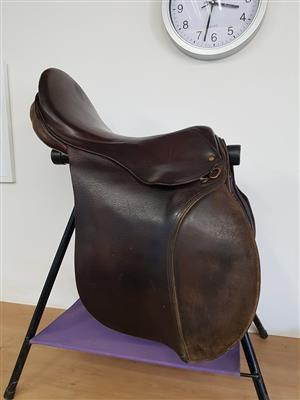 2  Horse saddles for sale together