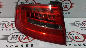 AUDI A4 B8 LEFT REAR OUTER TAIL LIGHT