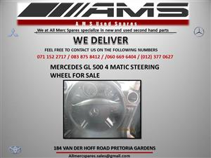 MERCEDES GL 500 4 MATIC STEERING WHEEL