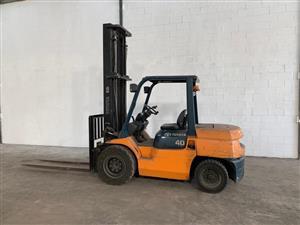 4 Ton Series 7 Toyota Forklift