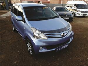 2013 Toyota Avanza AVANZA 1.3 SX
