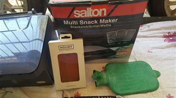 Salton multi snack maker