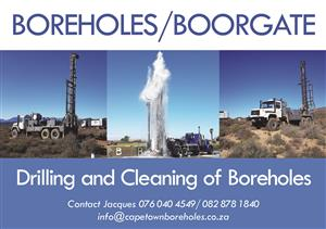 Borehole Drilling for water Boorgat boor vir water Fast turnaround time from booking to drilling