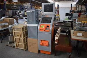 Orange and grey atm machine for sale