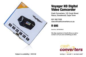 Voyager HD Digital Video Camcorder