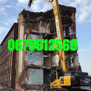 Rubble removal. Demolition. Good rates