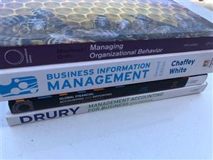 Academic Textbooks for Post Graduate Diploma in Business Administration @ Unisa - see prices below