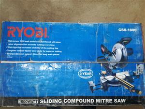 Ryobi 1800 W 210 mm Sliding Mitre Saw