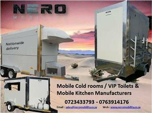 Mobile Coldroom-Kitchen-VIP Toilet and Catering Equipment