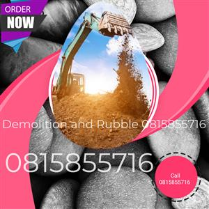 Jeffy demolition and rubble 0815855716 services pty