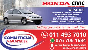 Honda Civic 04- parts for sale