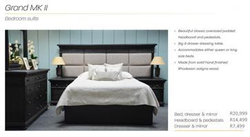 PERILLI Grand MkII Bedroom Suite