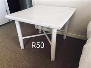 White vintage table for sale