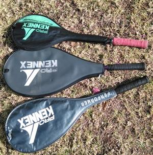 Tennis Racquets, Squash Racquets and Kit Bag (Youth Size)
