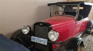 1927 Chev Touring Car