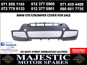Bmw E70 bumper cover for sale