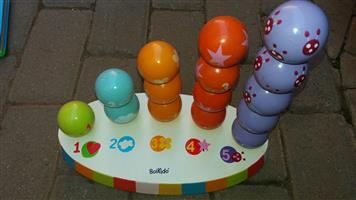 Various Boikido educational toys for children.