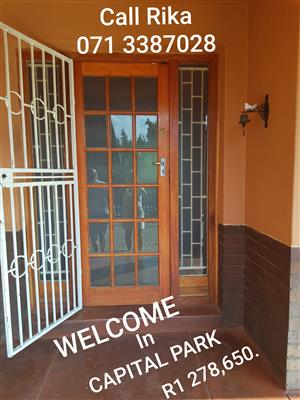 4 Bedroom House + Flat For Sale Capital Park