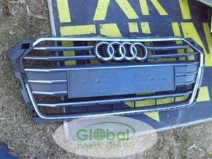 AUDI A5 MAIN GRILL – 8W6853651R USED (CR)
