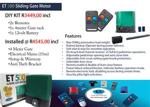 Gate & Garage Automation. Maintenance Services