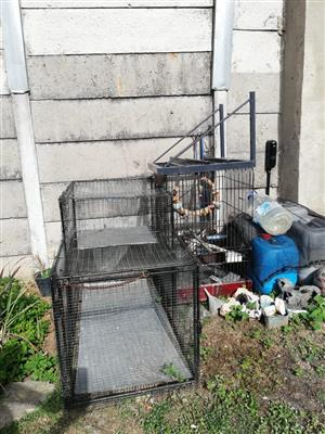 Large bird and Rabbit Cage for sale