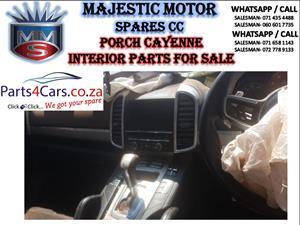 Porsche Cayenne interior parts for sale
