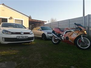 swop my non starter bike for W.H.Y or (gti,as,yaris parts)
