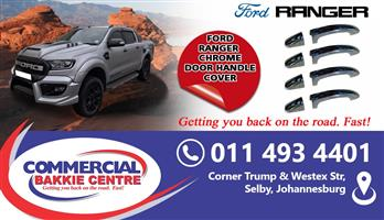 ford ranger 2012- door handle cover chrome