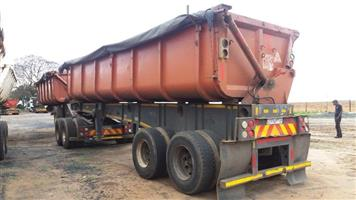 2007 CTS Side Typper Trailer 36Ton R210000