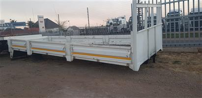 DROPSIDE body for sale  + - 7.15 mt - please call yugen