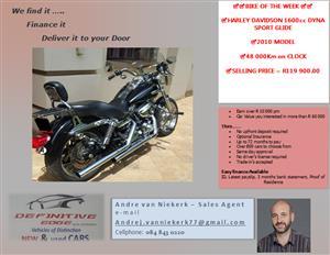 HARLEY DAVIDSON 1600cc DYNA SPORT GLIDE